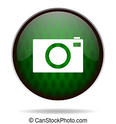 camera green internet icon