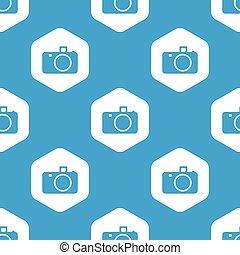Camera hexagon pattern