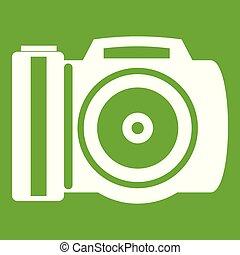 Camera icon green