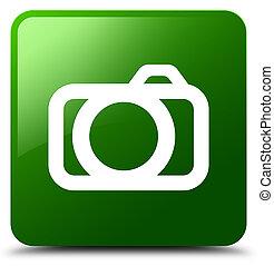 Camera icon green square button