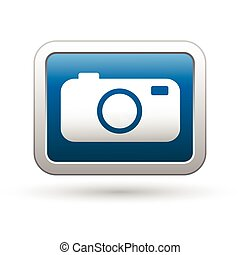 Camera icon on the blue button