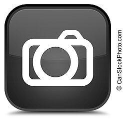Camera icon special black square button