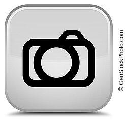 Camera icon special white square button