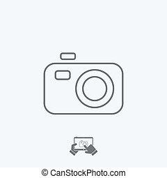 Camera icon - Thin series