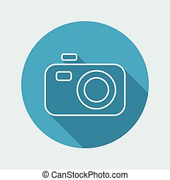 Camera icon - Thin series