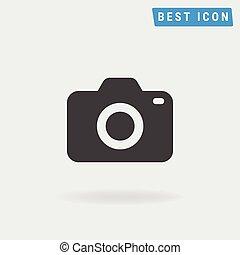 Camera Icon, Vector icon eps10.