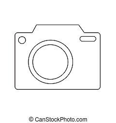Camera icon vector illustration