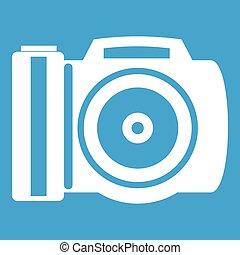 Camera icon white