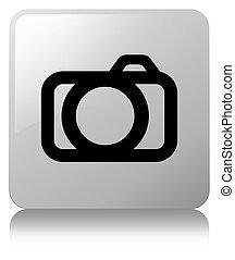 Camera icon white square button