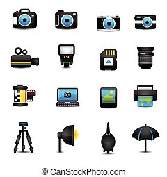 Camera Icons and Camera Accessories