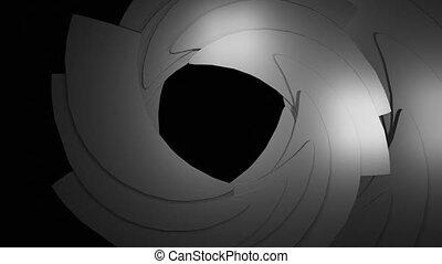 CAMERA IRIS - Camera Iris Opening and closing