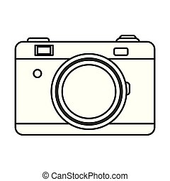 camera isolated icon