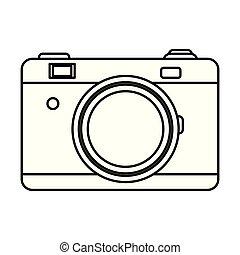 camera isolated icon