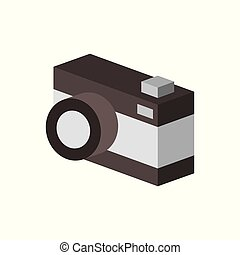 camera isometric design