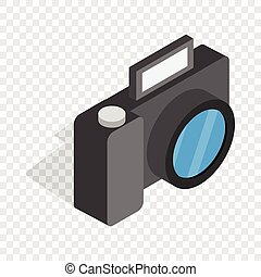 Camera isometric icon