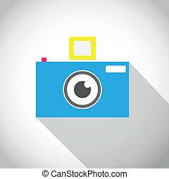Camera lens eye icon