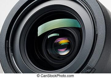 Camera lens - Isolated camera lens