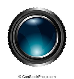 camera lens photographic icon