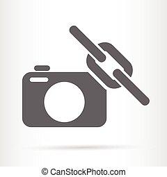 camera link web symbol icon