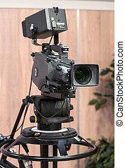 Camera on the film set