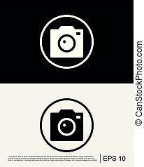 Camera Photo Icon Template