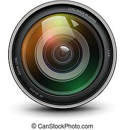 Camera photo lens