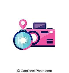 camera photographic device icon