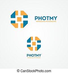 Camera shutter design  logo