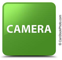 Camera soft green square button