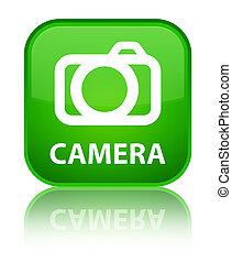 Camera special green square button
