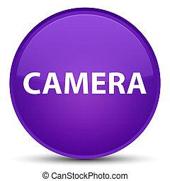 Camera special purple round button