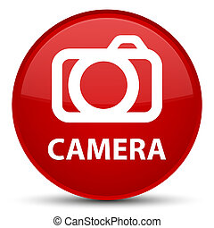 Camera special red round button