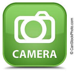Camera special soft green square button