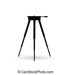 camera stand illustration