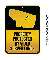 Camera Surveillance sign