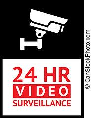 camera surveillance - Sticker cctv