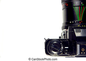 Camera, top view