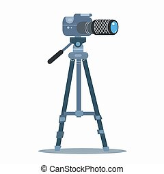 camera tripod static professional photography - The camera...