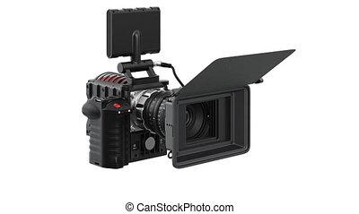 Camera video black professional