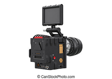 Camera video optical