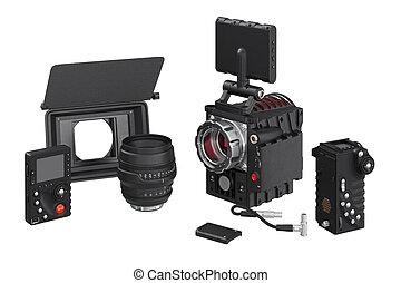 Camera video optical equipment