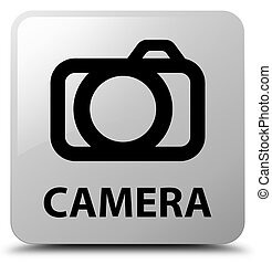 Camera white square button