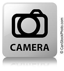 Camera white square button