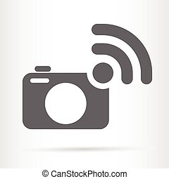 camera wireless symbol icon