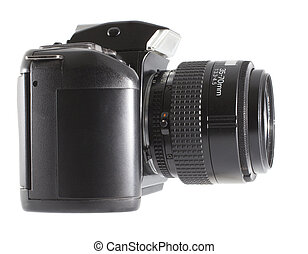 Camera with a zoom lens