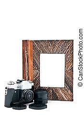 Camera with album