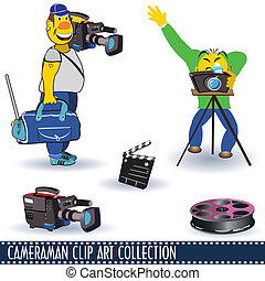 Cameraman clip art