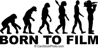 Cameraman evolution - Born to film