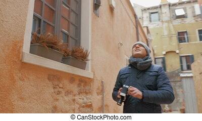 Cameraman Making Video Footage