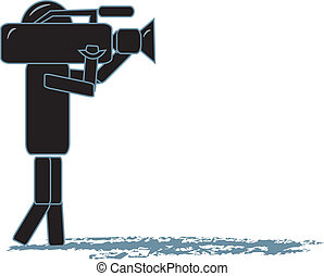 cameraman, pind figur